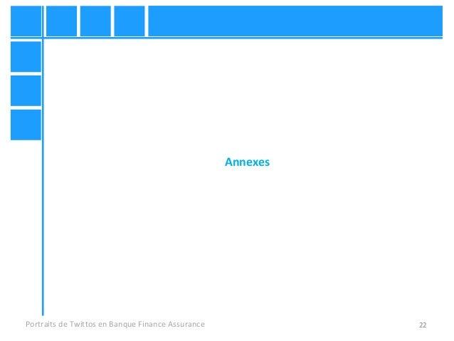 22 Annexes Portraits de Twittos en Banque Finance Assurance