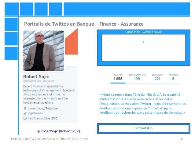 39 Portraits de Twittos en Banque – Finance - Assurance Portraits de Twittos en Banque Finance Assurance @RobertSojic (Rob...