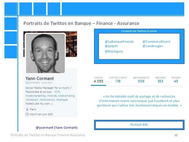 49 Portraits de Twittos en Banque – Finance - Assurance Portraits de Twittos en Banque Finance Assurance @ycormant (Yann C...