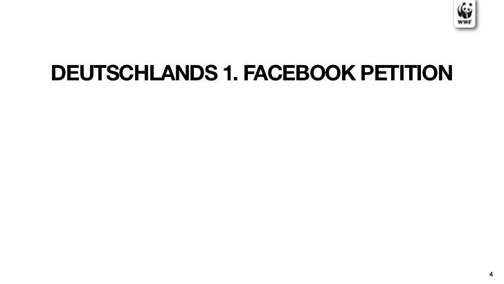 DEUTSCHLANDS 1. FACEBOOK PETITION                                    4
