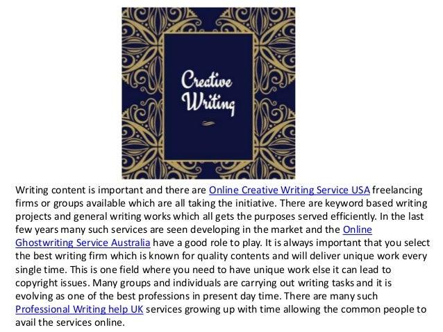 Ghostwriter services usa