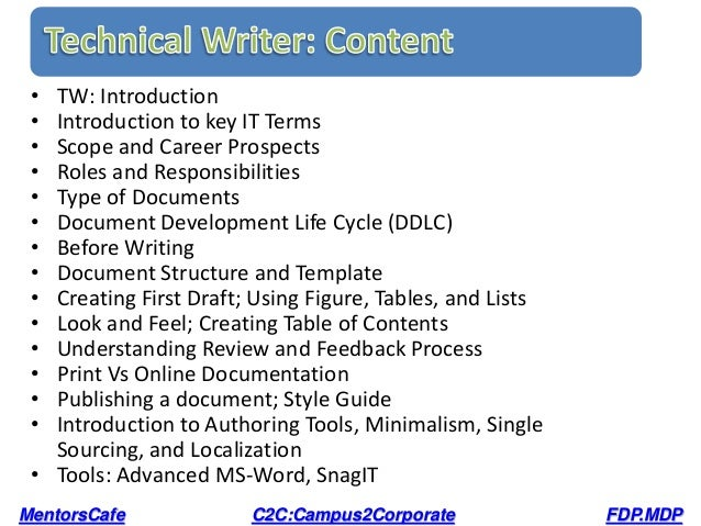 technical writing course Course description course objectives: technical writing prepares students to design effective technical documents for both written and digital media, with particular emphasis upon technical memos, problem-solving and decision-making reports, and organizational, product-support, and technical-information webs.