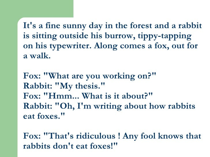 It's a fine sunny day in the forest and a rabbit is sitting outside his burrow, tippy-tapping on his typewriter. Along com...