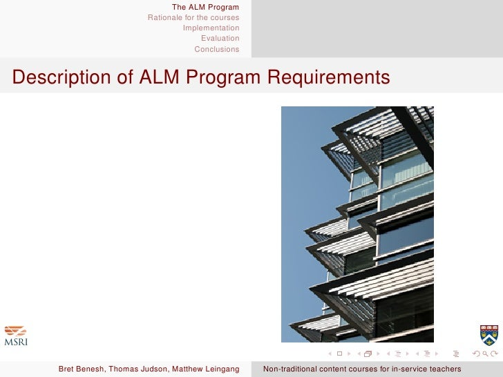 harvard extension school alm thesis proposal Documents required to apply to alm sustainability in harvard program at harvard extension school if you did thesis proposal course on the harvard.