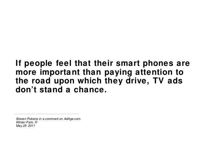 Study: Do Smart Phones Distract from TV? Slide 3
