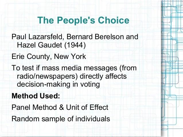 Paul Lazarsfeld - New World Encyclopedia