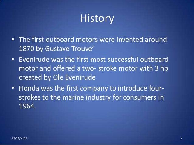 Two Stroke Vs Four Stroke Outboard Motors