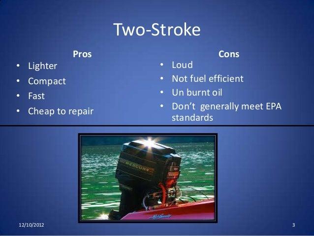 Two stroke vs four-stroke outboard motors