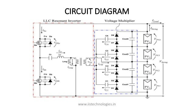 two switch voltage equalizer using an llc resonant