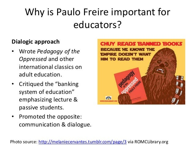freire pedagogy of the oppressed