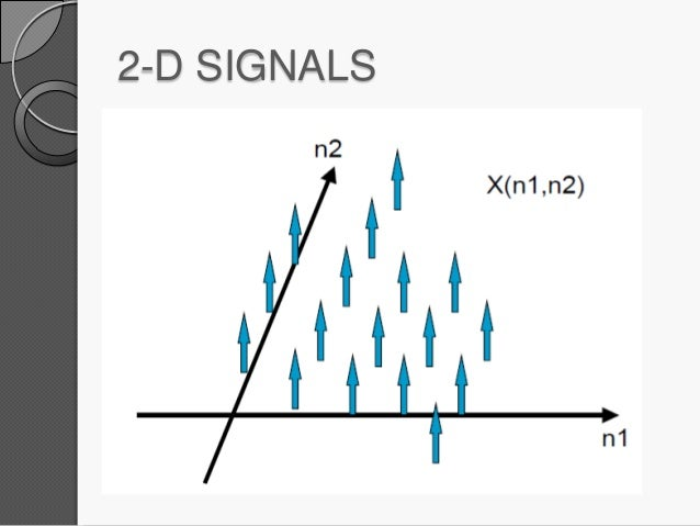 Two dimensional signals and systems