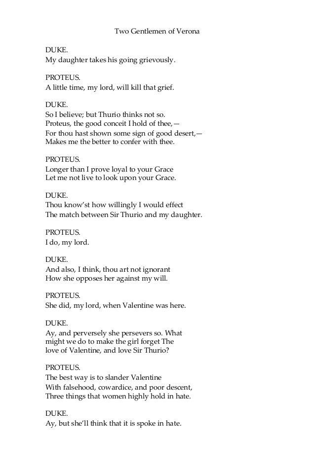 two gentlemen of verona pdf