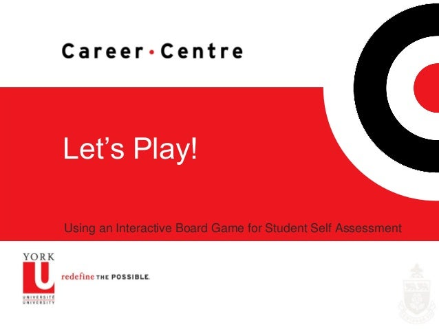 Let's Play! Using an Interactive Board Game for Student Self Assessment