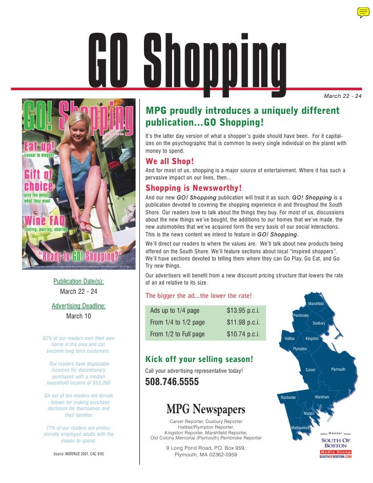 GO Shopping  MPG proudly introduces a uniquely different                                                                  ...