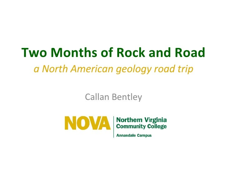 Two Months of Rock and Road a North American geology road trip Callan Bentley