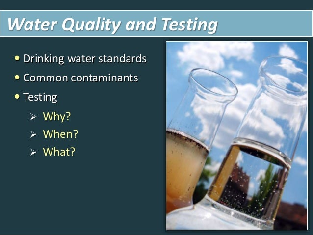 Research On Clean Drinking Water Microbial