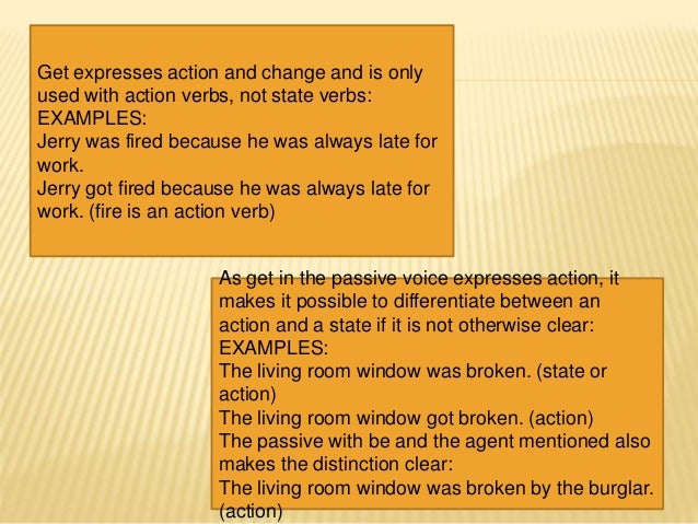 Two Objects In An Active Sentences Presentation