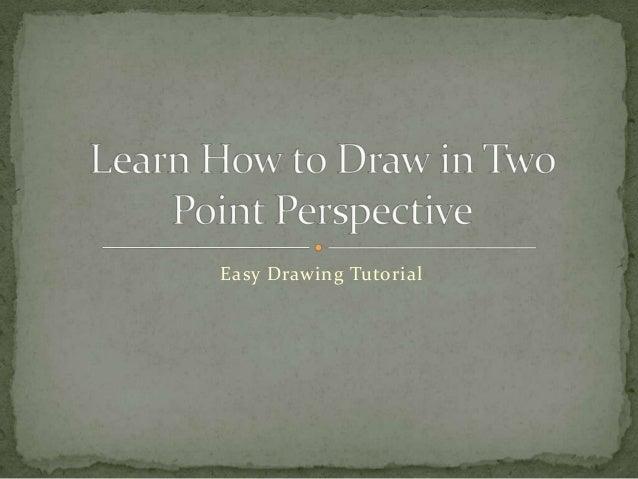 Easy Drawing Tutorial