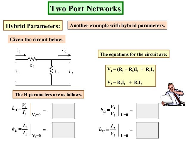 two port networks unit iiSolving The Equations For The Hybrid Circuit #17