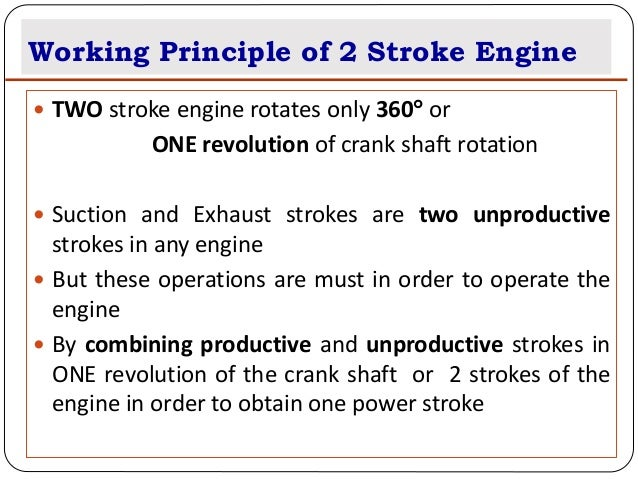 A Two Stroke Engine Has Ports Instead Of Valves X 4