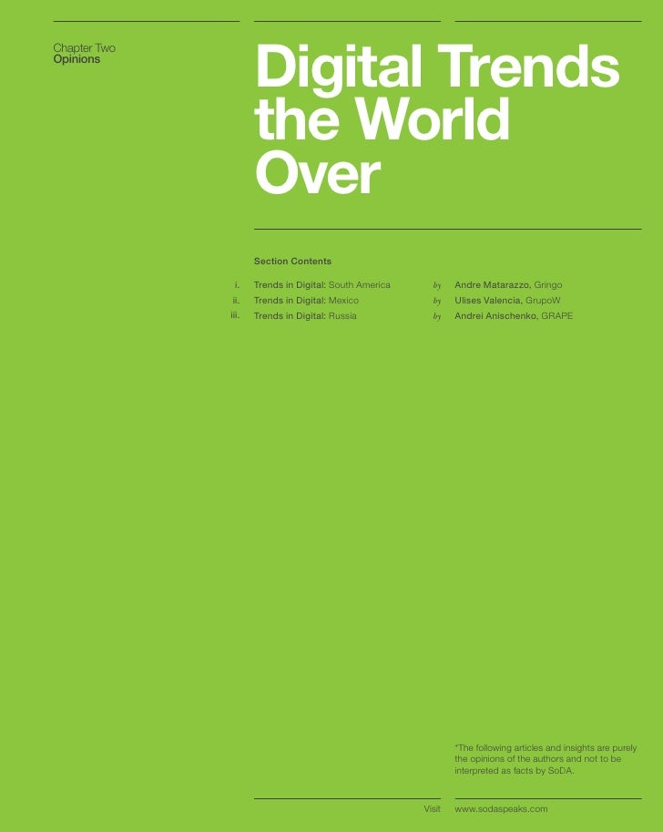 Two Thousand And Ten Digital Marketing Outlook By Soda