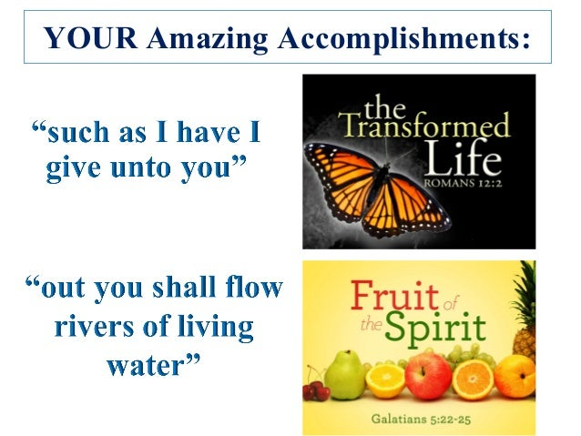 YOUR Amazing Accomplishments: