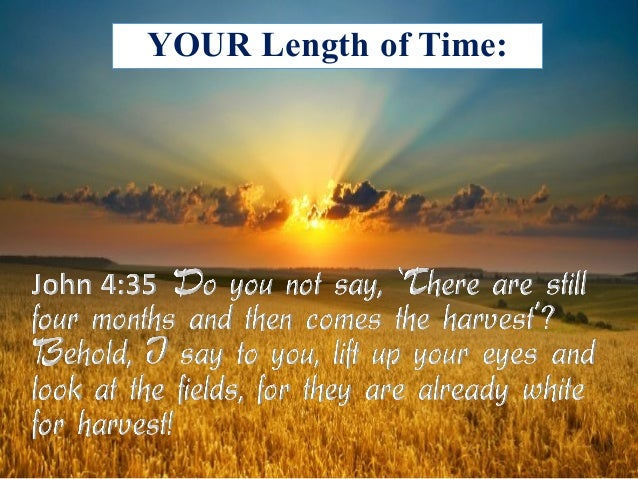 YOUR Length of Time: