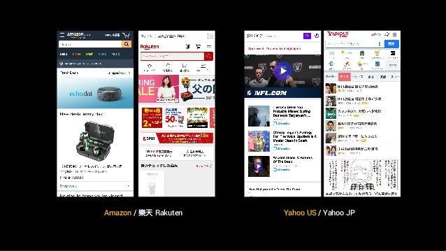 Amazon / 樂天 Rakuten Yahoo US / Yahoo JP