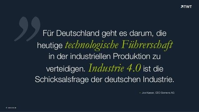 TWT iBeacon Services – Branchenfokus Industrie Slide 2