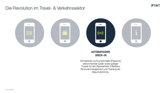 ! ! !& i$ Die Revolution im Travel- & Verkehrssektor AUTOMATISCHER CHECK-IN ! Kontaktlose und kompfortable Erfassung ankom...