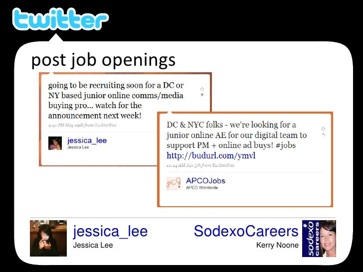 post job openings<br />