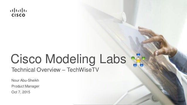 Simulating Networks Using Cisco Modeling Labs (TechWiseTV