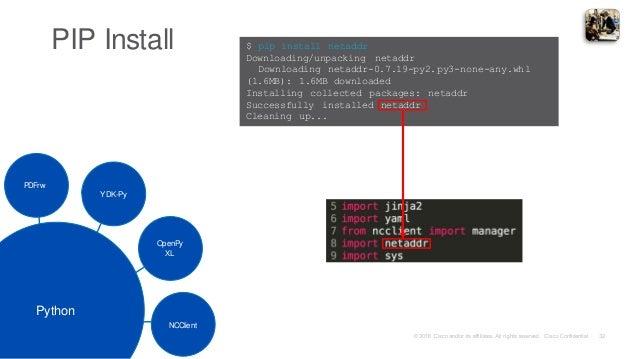 TechWiseTV Workshop: Catalyst Switching Programmability