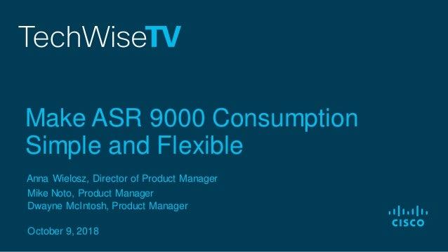 TechWiseTV Workshop: ASR 9000