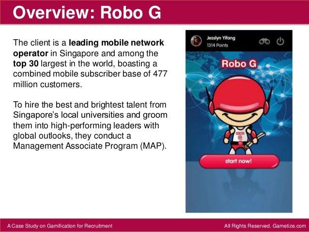 CASE STUDY: Robo G Slide 2