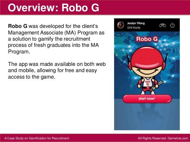 CASE STUDY: Robo G Slide 3