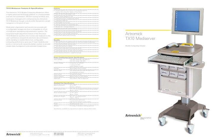 TX10 Medserver                      Artromick                  TX10 Medserver                  Mobile Computing Solution  ...