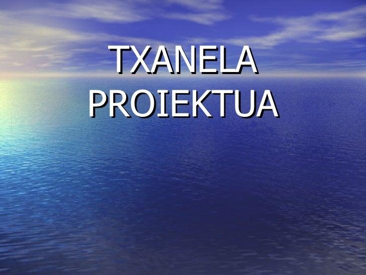 TXANELA PROIEKTUA