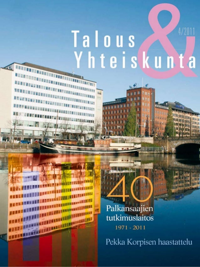 LABOUR INSTITUTE FOR ECONOMIC RESEARCH Pitkänsillanranta 3 A, 6. krs 00530 Helsinki Finland p. 09–2535 7330  (Tel. +358–9...