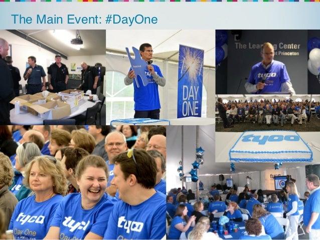 The Main Event: #DayOne!  @yammer   !#yamjam12   Yam-Wins Group!