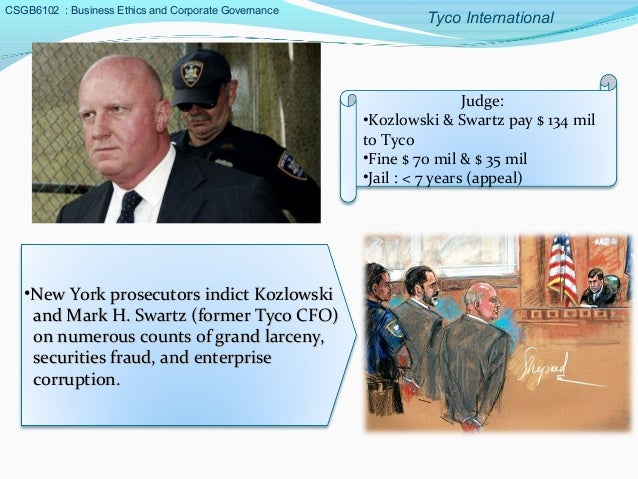 tyco downfall Tyco international ltd fraud – dennis kozlowski the rise and fall of dennis kozlowski has been well chronicled once recognized as one of the top chief executive officer in north america his reputation is now forever tarnished as he awaits parole in a new york state prison.