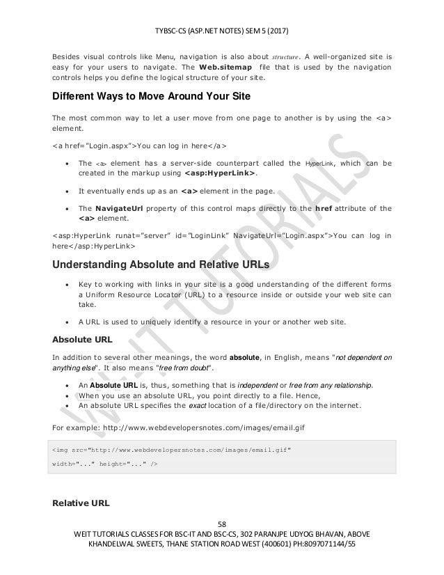 Bsc Maths Notes
