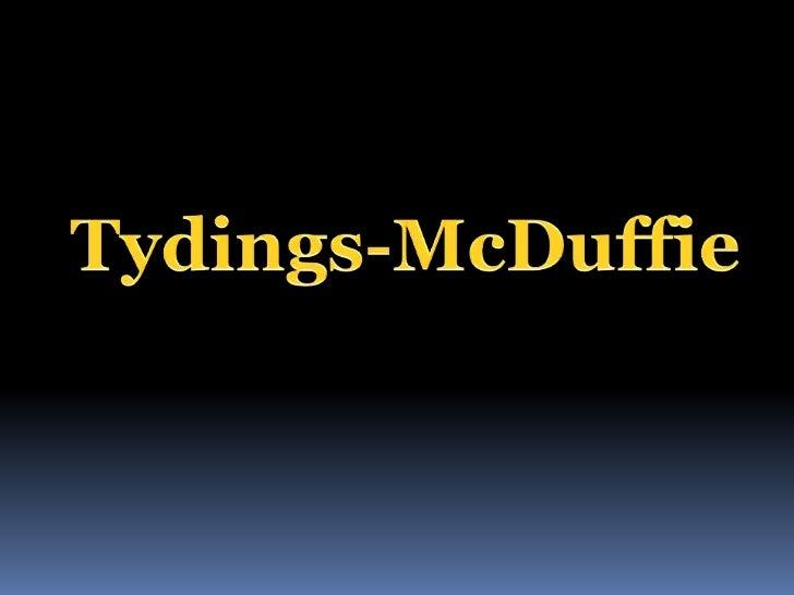 Tydings mc duffie