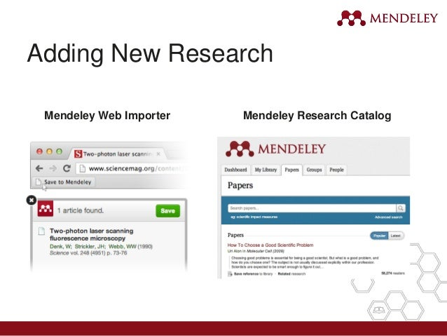 how to manually add references to mendeley