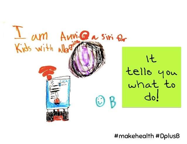 It tells you what to do! #makehealth #DplusB