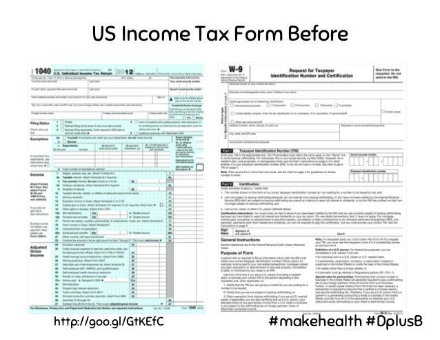 US Income Tax Form After http://goo.gl/GtKEfC #makehealth #DplusB