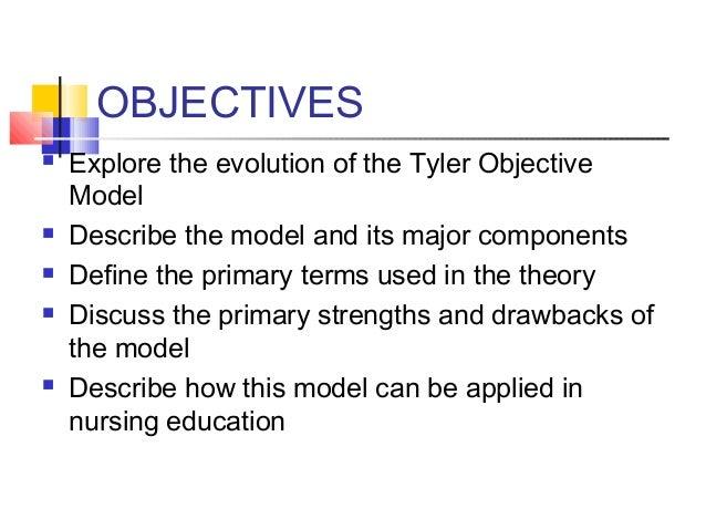 objective model presentation