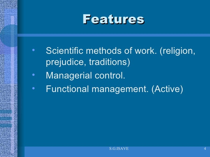 an analysis of the topic of the scientific management and the role of frederick w taylor The ideas and techniques of frederick w taylor, the founder of scientific  management, were examined with respect to their validity and their  every book  on the topics of organizational behavior, personnel manage- ment, and work   cost accounting), in marketing (eg, market analysis, market surveys), in  purchasing and.