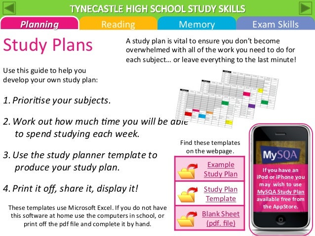 Best study techniques for high school