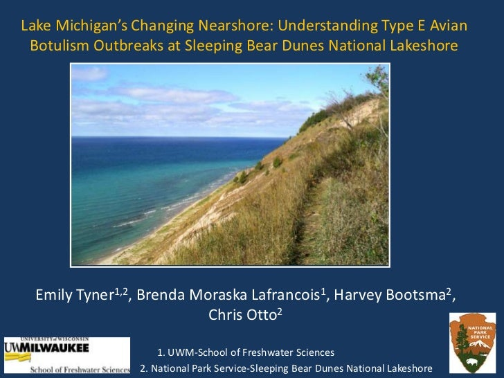 Lake Michigan's Changing Nearshore: Understanding Type E Avian Botulism Outbreaks at Sleeping Bear Dunes National Lakeshor...